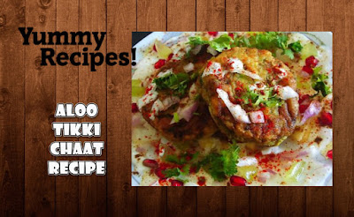Aloo Tikki Chaat Recipe - How To Make Aloo Tikki Chaat