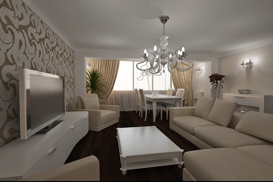 Design interior living casa moderna Constanta - Design Interior - Amenajari interioare | Design - interior - living - modern - Constanta