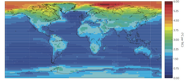 A new study puts temperature increases caused by CO2 emissions on the map