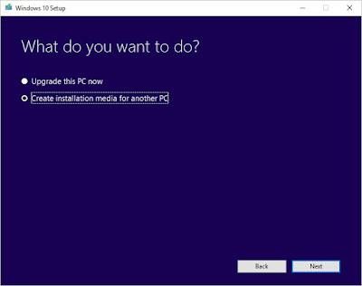 Media Creation File Windows 10