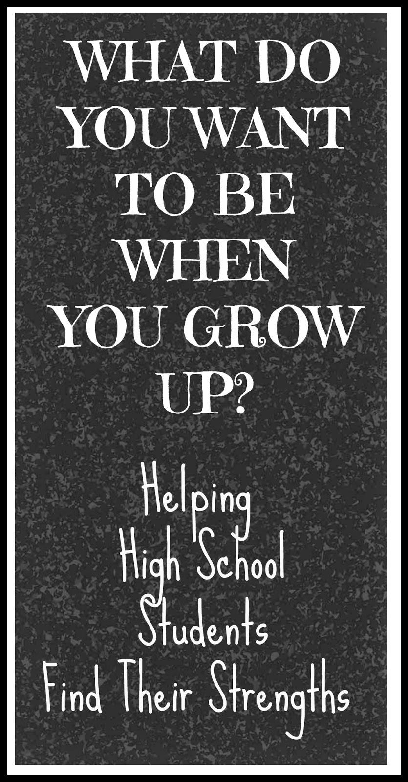KarenTrina Childress : WHAT DO YOU WANT TO BE WHEN YOU GROW
