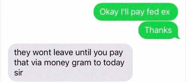 Guy Found A Hilarious Way To Beat A Scammer By Answering To Their Texts