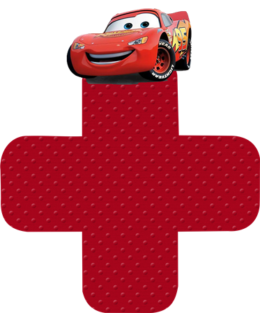 Cars: Lindas Cajas Abiertas para Imprimir Gratis.