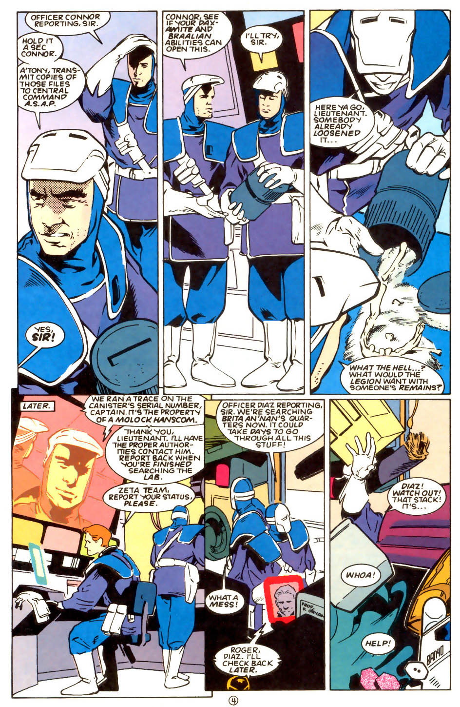 Legion of Super-Heroes (1989) 56 Page 4