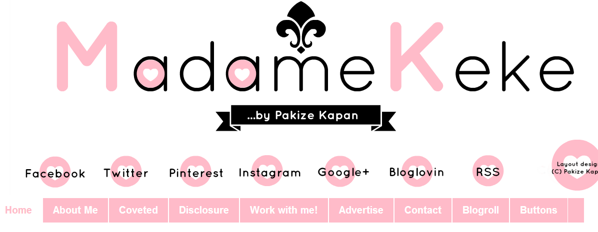 Madame Keke: New Blog Design ! - My new blog design that took me quite some time, but was worth it. - Madame Keke Fashion & Beauty Blog
