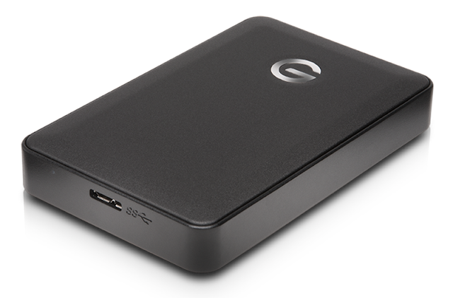 Backup with the G-Technology 3TB G-Drive mobile USB 3.0 hard drive