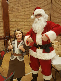 Father Christmas with Dan Jon Jr