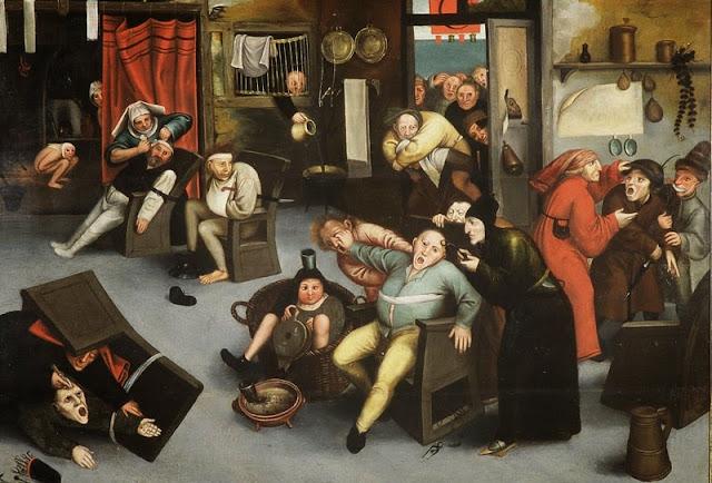 Brueghel el Viejo, Extracción de la piedra de la locura