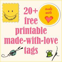 free tag printables
