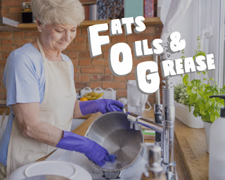 Albemarle County Service Authority blog, how to prevent fats, oils, and grease clogs