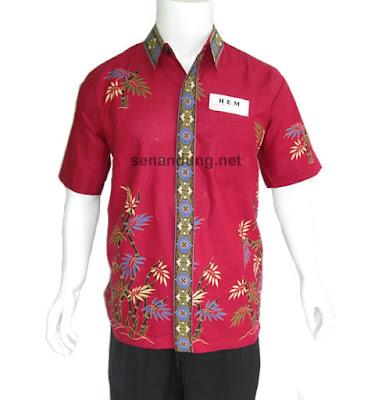 model baju batik modern yang menjadi trend
