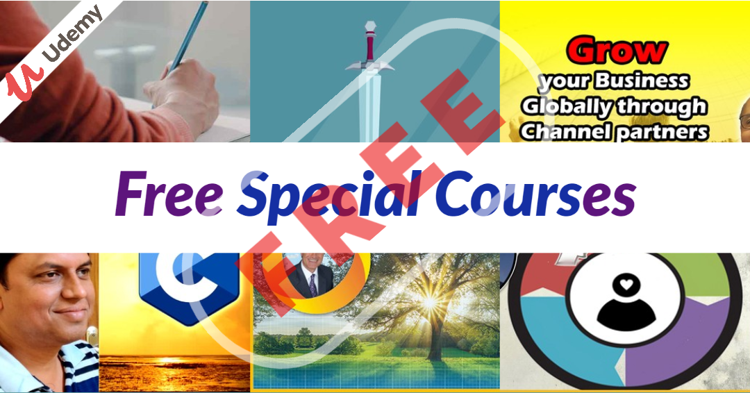 Free Special Courses From Udemy
