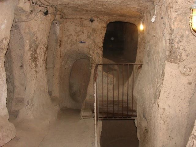 travelling archive kaymakli underground city cappadocia