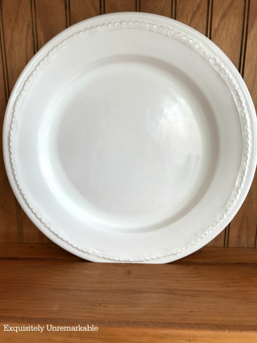 Pottery Barn Napoli Dinner Plate