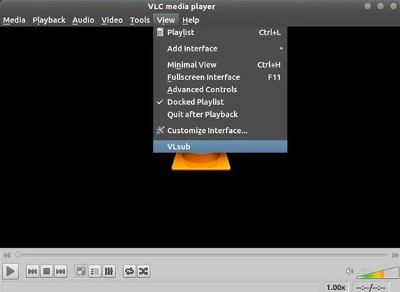 Download Movie Subtitles on Linux with VLC