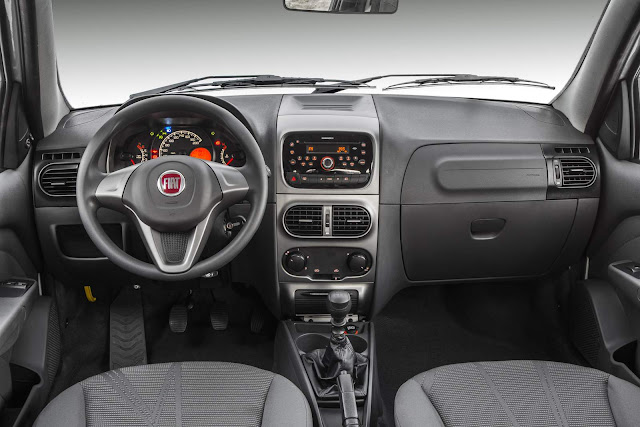 Fiat Palio Weekend 2017 - interior