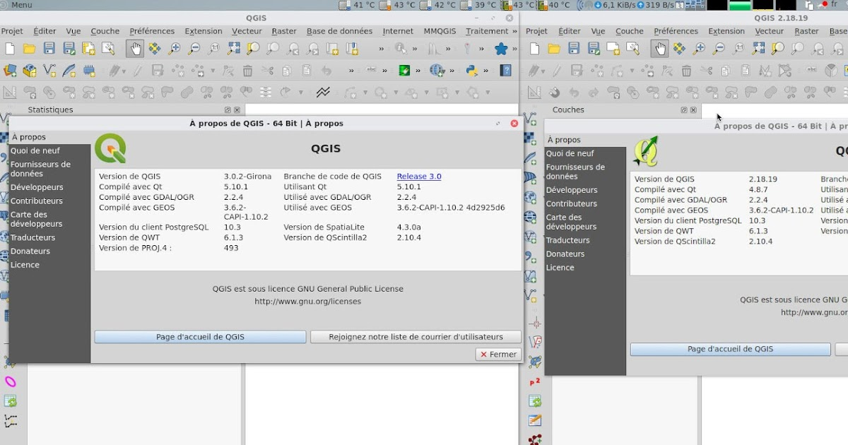 How-to run QGIS 2 and QGIS 3 at the same time in Archlinux or Manjaro