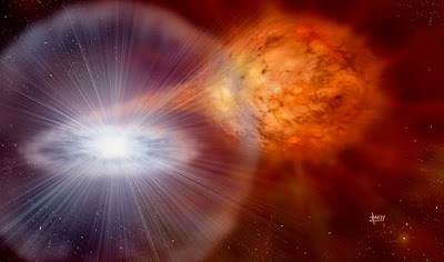 Dust grains could be remnants of stellar explosions billions of years ago