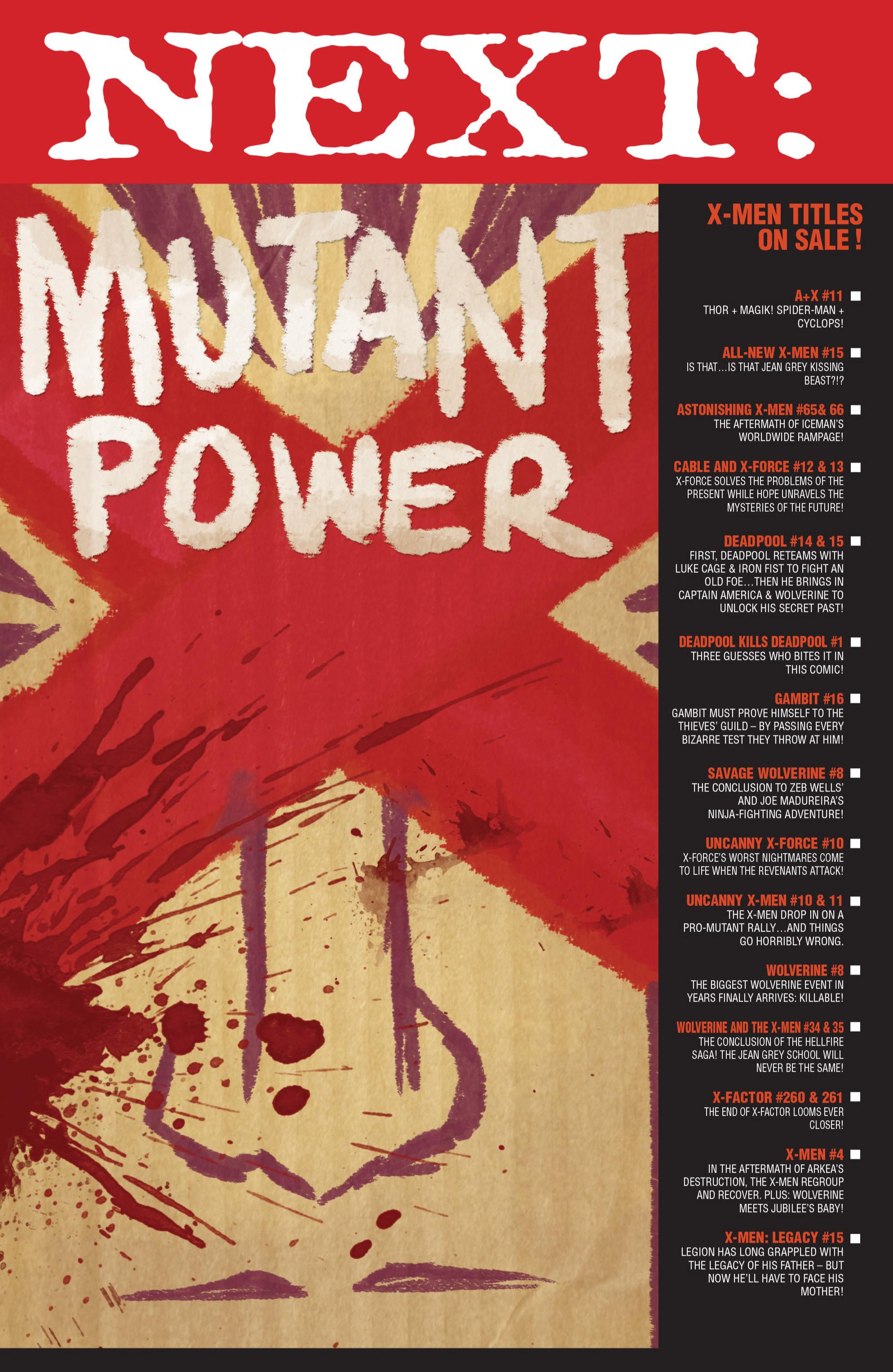 Read online Uncanny X-Men (2013) comic -  Issue # _TPB 2 - Broken - 96