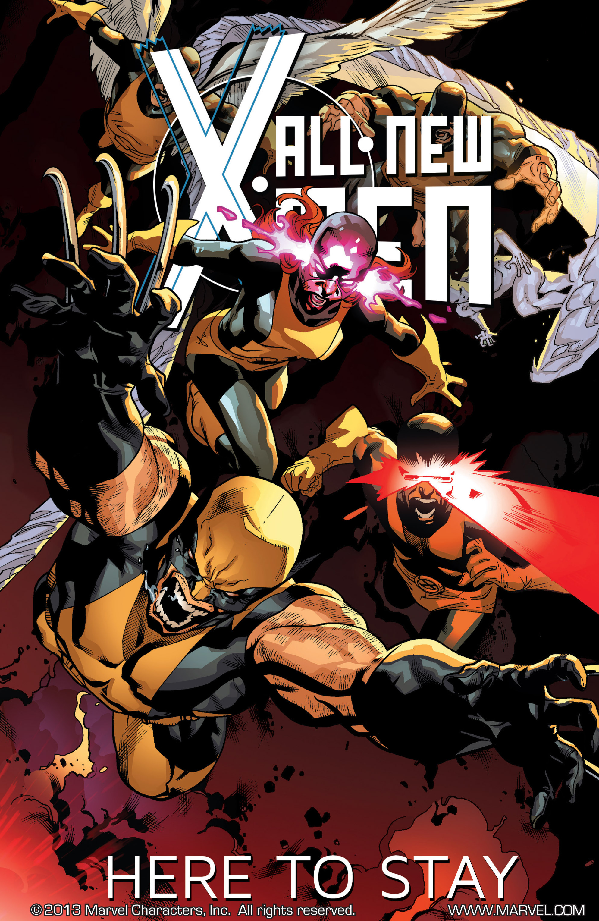 Read online All-New X-Men (2013) comic -  Issue # _Special - Here To Stay - 109