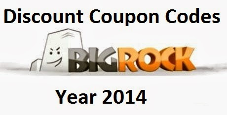 BigRock Coupon Codes For 2014