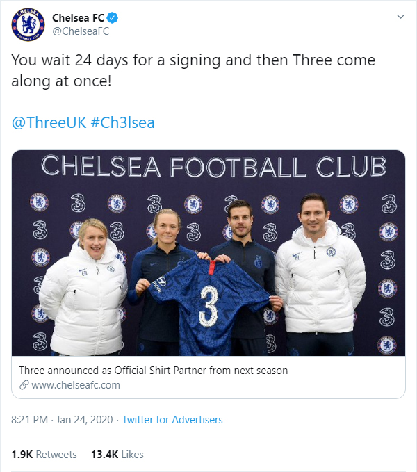 Chelsea brutally troll fans with cheeky 'new signing' announcement