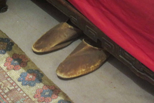 Clemenceau s slippers