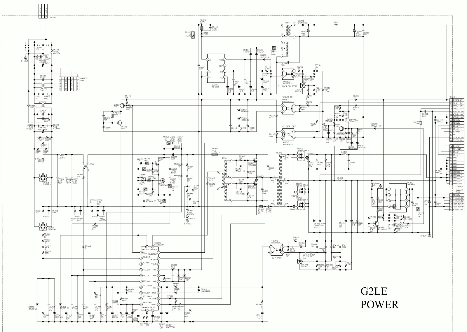 Sony Schematics