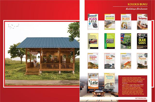 Buku Budidaya Perikanan Untuk Perpustakaan Desa