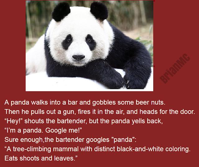 Panda Bar Joke