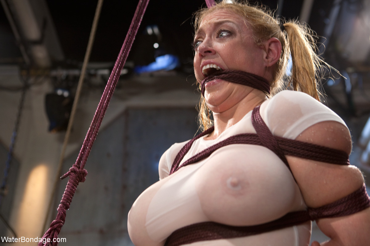 Not absolutely darling latex bondage where