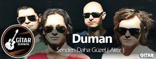 Duman - Senden Daha Guzel Şarkı Sözleri