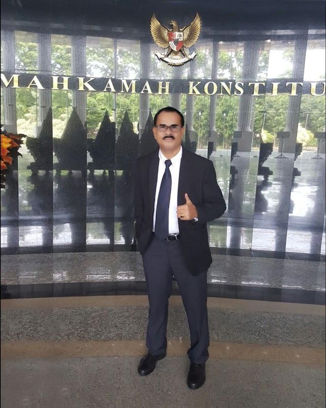 Mathius Awoitauw Akhirnya DItetapkan Sebagai Bupati Jayapura Periode 2017-2022