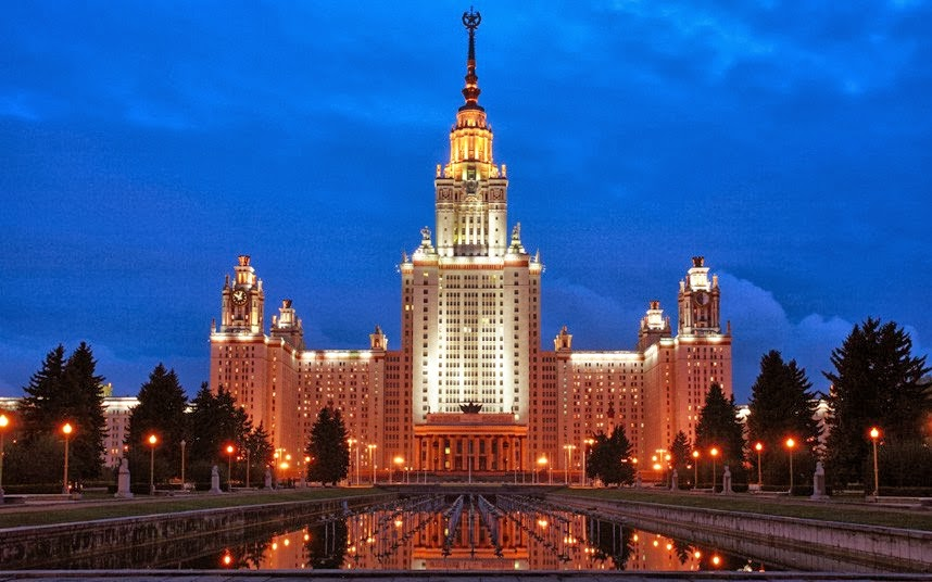 Moscow State University Also Known As Lomonosov Or Msu Is Another Beautiful Located In Russia