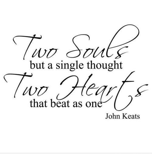 Two Souls But A Single Thought