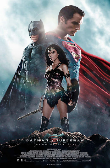 Cartel publicitario de Batman v Superman: Dawn of Justice