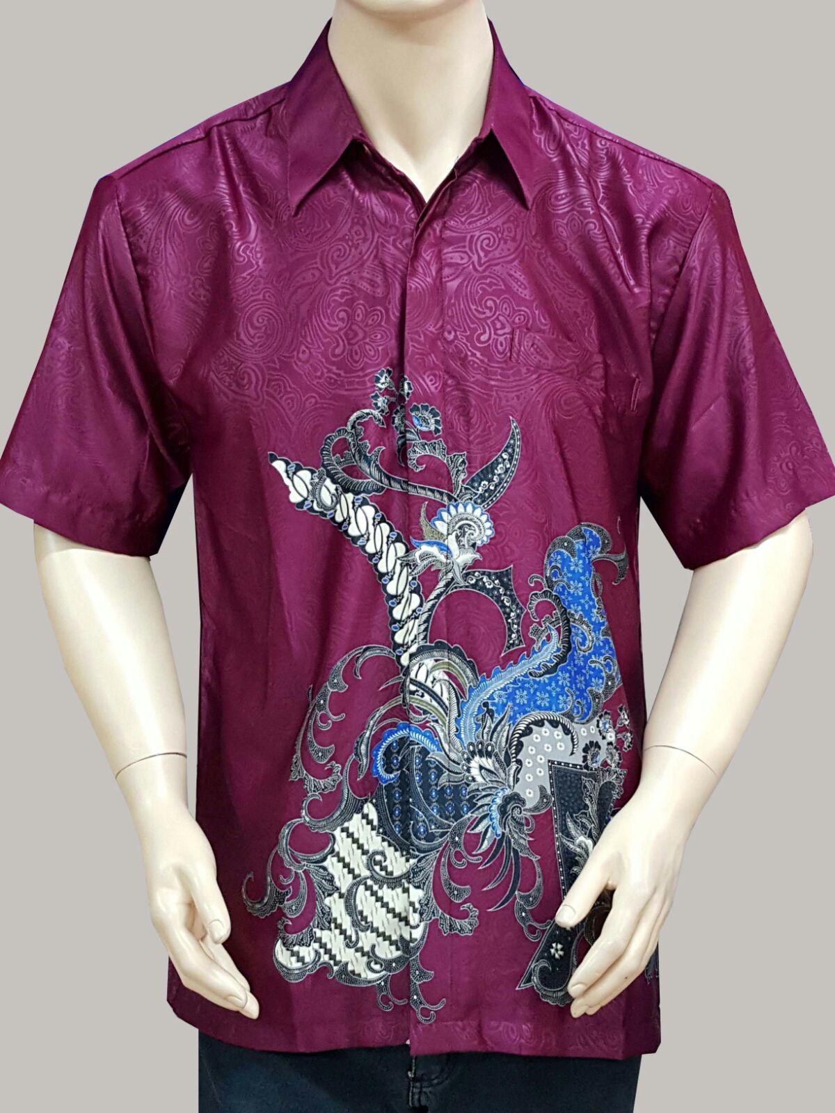 Hem Batik Pria Modern  Miss Dekik Batik