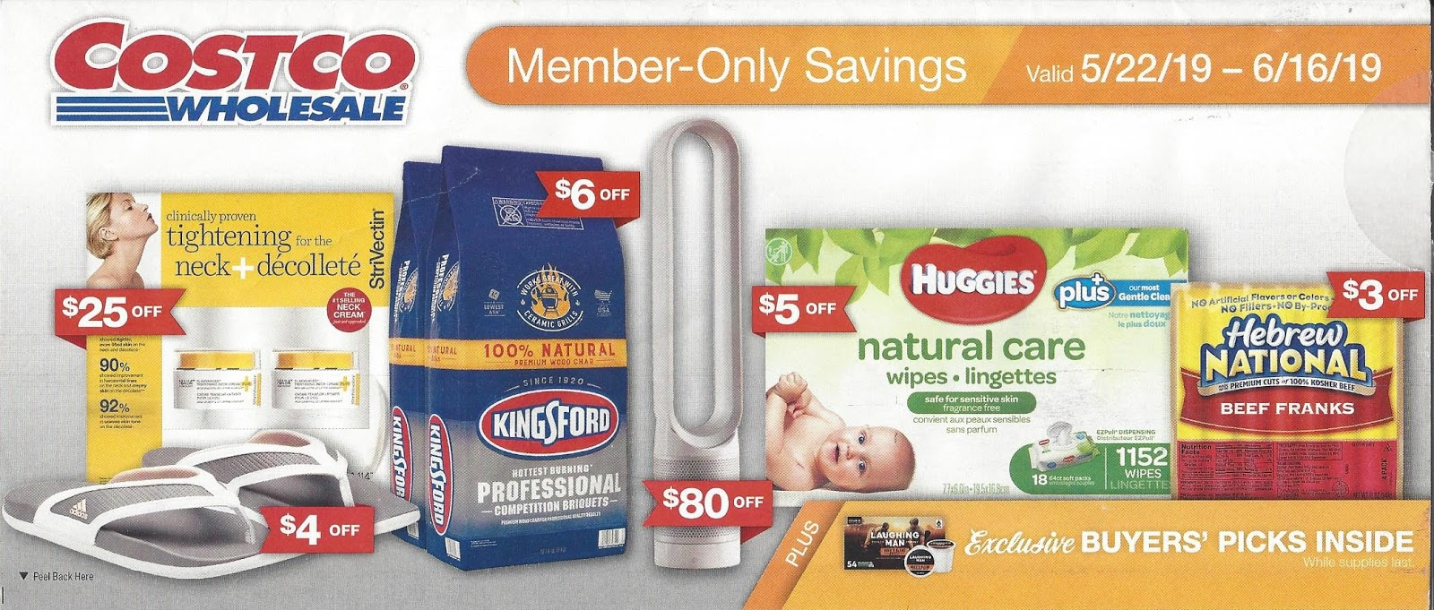 May 2019 Costco Coupon Book