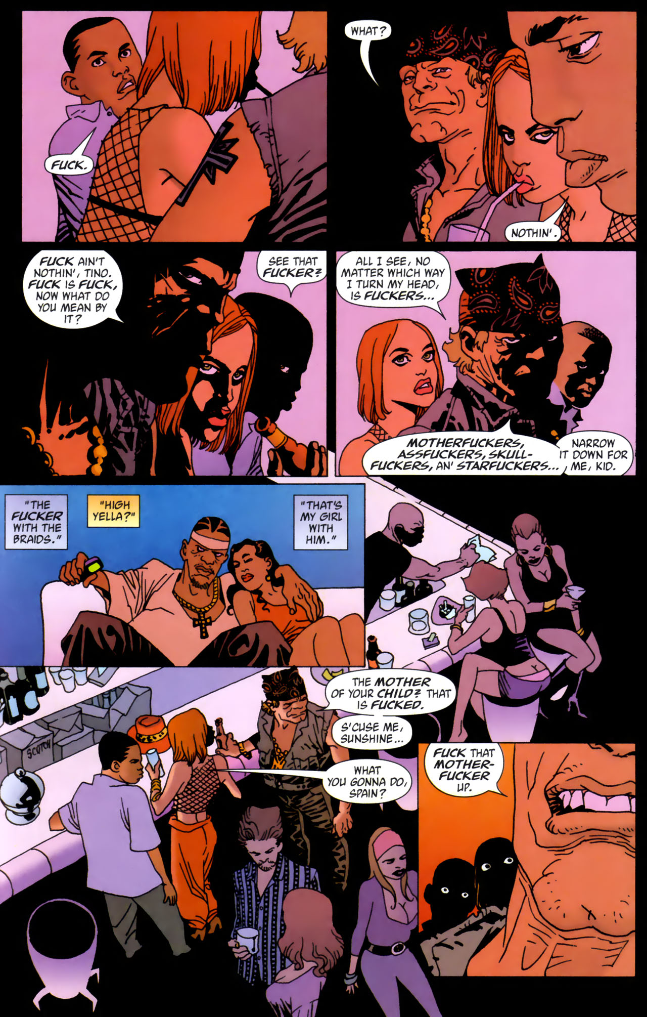Read online 100 Bullets comic -  Issue #61 - 20