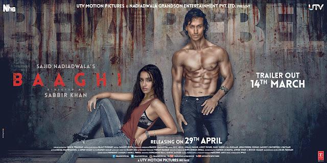 Download Movie Baaghi / Rebel (2016)