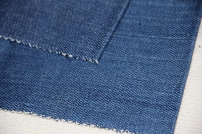 Organic denim fabric