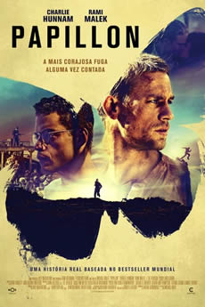 Capa Papillon Torrent – Bluray 720p | 1080p Dual Áudio (2017) Download