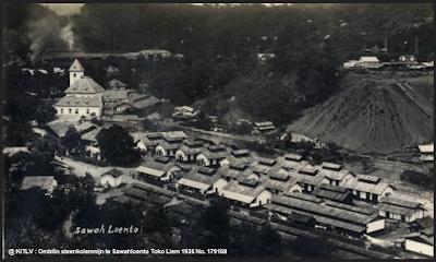 sejarah tambang batubara ombilin sawahlunto