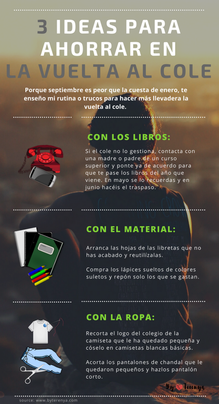 infografia-3-ideas-ahorrar-vuelta-cole