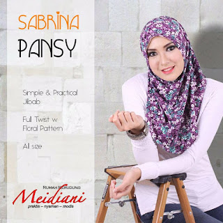 Jilbab Instant Sabrina Pansy