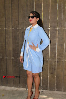 Richa Chadda Latest Pos in Blue Short Dress at the Screening Of Short Film Khoon Aali Chithi  0025.jpg