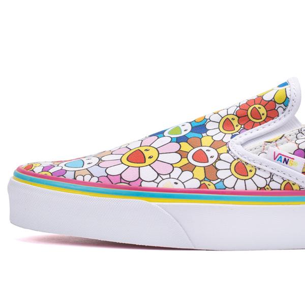 f27b07bafd Vans Vault Takashi Murakami Classic Slip-On LX. (Flower) Multi-Color.  VN000ZSIGQC