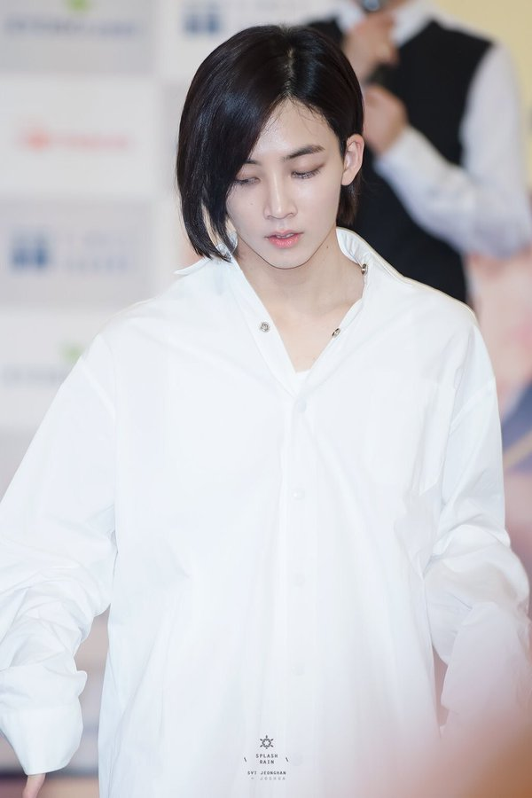 Seventeen Jeonghan Tops Poll For 'Idol Causing Short Hair ...