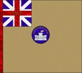 27th Regiment of Foot (Inniskilling Regiment)  Regimental Colour