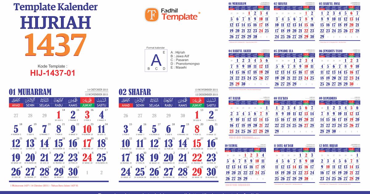 Dasar Pembuatan Kalender Hijriah Adalah Sahabat Belajar Sd